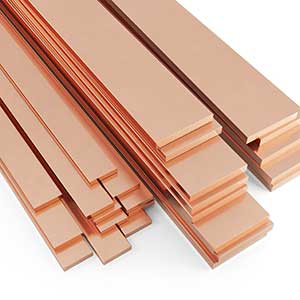 George White Copper Flat Bars